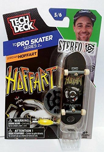 Tech Deck Skateboard TD Pro Skater Series 2 Jordan Hoffart Stereo 56 Finger Board by tech deck