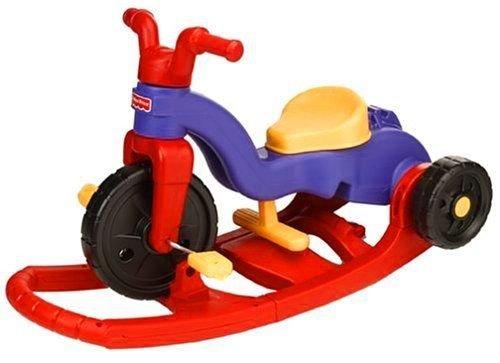 Fisher Price Rock N Roll Toddler Kids Trike Bike Tricycle Red