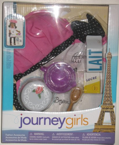 Journey Girls 18 inch Doll Fashion Sets Paris - Chef