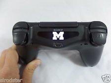 Scott ALlah Design - PlayStation 4 PS4 ControlleR MICHIGAN LOGO Led Light Bar Decal Sticker