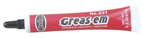 Greas-em Dry Graphite Lubricant 55 Grams