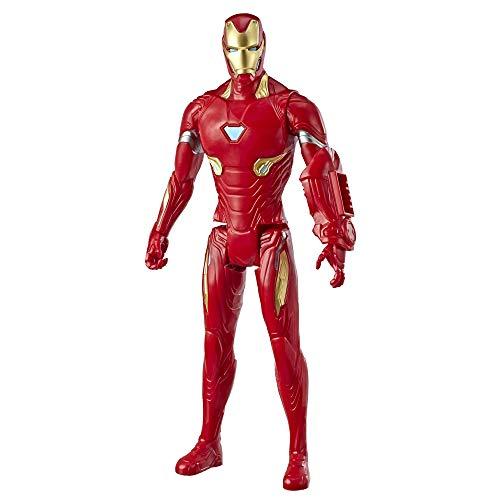 Avengers Marvel Endgame Titan Hero Series Iron Man 12-Scale Super Hero Action Figure Toy with Titan Hero Power Fx Port