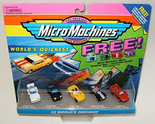 Micro Machines Worlds Quickest 2 plus 4 Bonus Vehicles Collection
