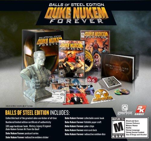 Duke Nukem Forever Balls of Steel Edition -Xbox 360 by 2K