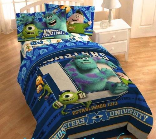 Disneys Monsters University Microfiber Comforter 64 x 86