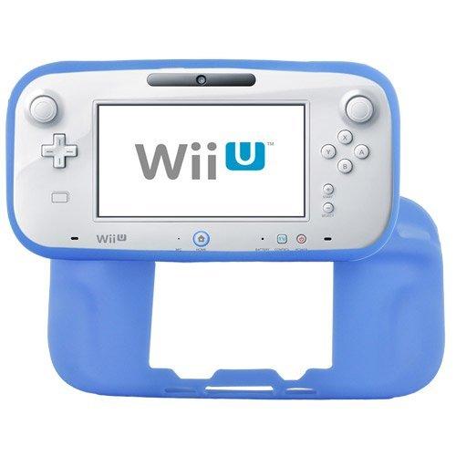 Skque Soft Silicone Skin Back Case Cover for Nintendo Wii U Gamepad Remote Controller Blue by Skque