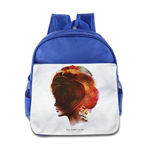 HYRONE The Last Game Of Us Children School Bagpack Bag For 1-6 Years Old RoyalBlue