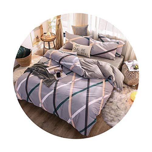 sunshine-xj 3pcs4pcs Cotton Bedding Sets Coral Fleece Duvet Cover Flat Sheet Pillowcase Winter Warm Flannel Bed Set Kids Bedding Sets14for 15-18M Bed-4pcBed Sheet