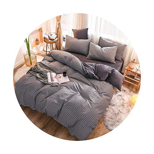 sunshine-xj 3pcs4pcs Cotton Bedding Sets Coral Fleece Duvet Cover Flat Sheet Pillowcase Winter Warm Flannel Bed Set Kids Bedding Sets2for 15-18M Bed-4pcBed Sheet