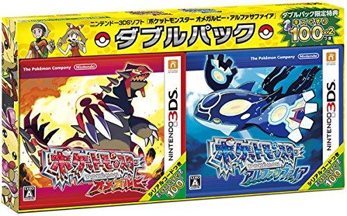 New Nintendo 3ds Pokemon Omega Ruby Alpha Sapphire Double Pack