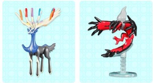 Nintendo 3DS Pokemon XY arrival purchase bonus Pokepuramini and Zeruneasu Iberutaru Set of 2 not for sale Only Benefits