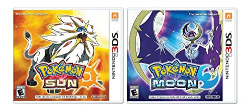 Pokemon Sun and Pokemon Moon Dual Pack COMBO - Nintendo 3DS