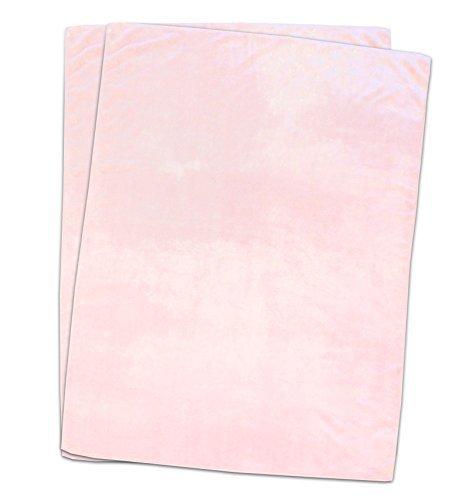 Baby microfiber blanket 2 Disc fluffy lightweight type Pink 75 ~ 110cm by Littel Budding