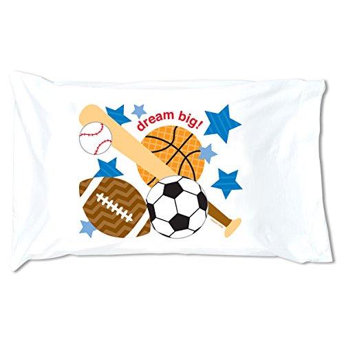STEPHEN JOSEPH Sports Pillowcase
