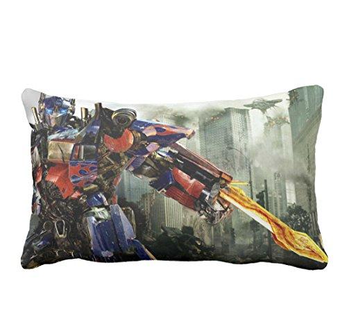 Bridget Gordon optimus prime transformers 3 cool characters cotton pillow Duplex 2030