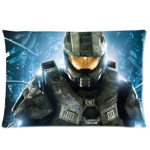 Custom Halo Pillowcase Standard Size 20x30 Cotton Pillow Case P891