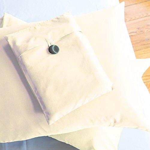 Sposh Microfiber Pillowcase Sets Cream Queen