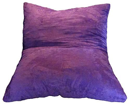 The Full Hug Bed Lounger 54x75 - Pillow Bean Bag Crash Pad - Navy Microfiber Child Firmness