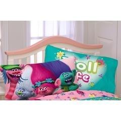 Trolls Reversible Microfiber Pillowcase for 20 in x 30 in pillow