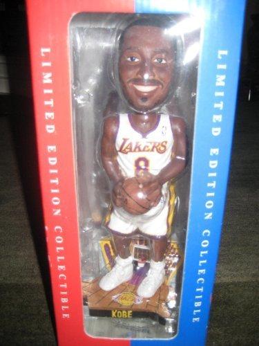 Kobe Bryant Los Angeles Lakers White Jersey Variant Bobble Bobblehead