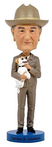 Lyndon B Johnson Royal Bobbles Bobblehead Figurine by Royal Bobble