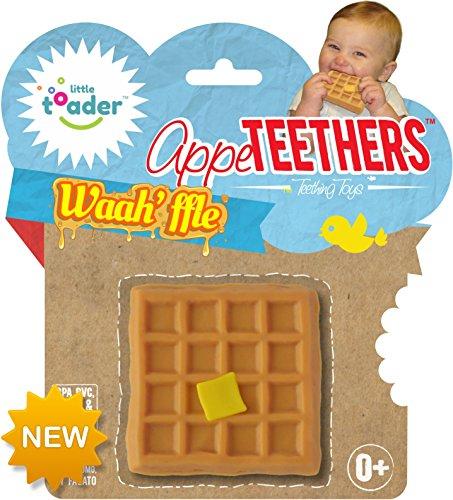 Little Toader Teething Toys Waahffle Appe-Teethers
