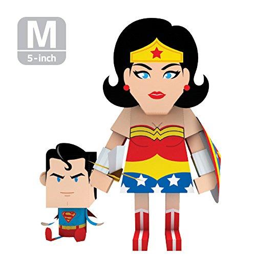 MOMOT Paper Craft Toy - DC Comics WONDER WOMAN 5-inch M Size 13cm