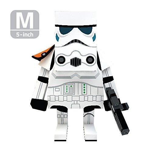 MOMOT Paper Craft Toy - STARWARS STORM TROOPER 5-inch M Size 13cm