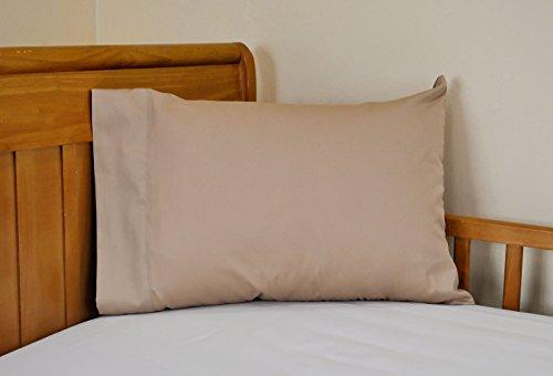 14x21 Toddler Pillowcase Child Size Travel Pillowcase 100 cotton Color Camel