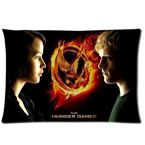 Custom The Hunger Games Pillowcase Standard Size 20x30 Cotton Pillow Case P1290