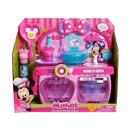 Minnie Bow-Tique Bowtastic Kids Toys Kitchen Playset
