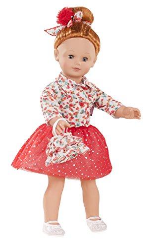 Gotz Precious Day Julia 18 inch Doll with Red Hair