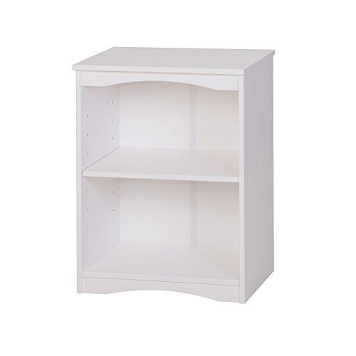 Camaflexi Essentials Wooden Bookcase 305H x 23W x 12D White