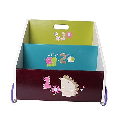 Labebe Kids Wooden Bookcase of Hedgehog