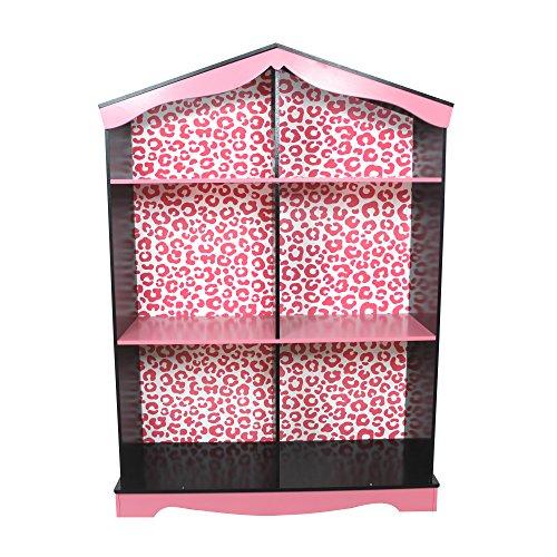 Teamson Kids - Fashion Prints Leopard Kids Wooden Bookcase