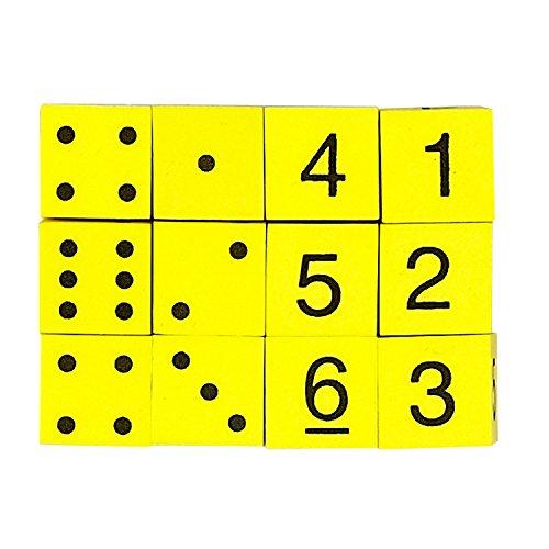 Koplow Games Foam Spot and Number Dice - 1 Pack