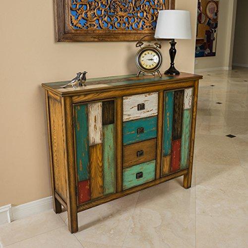 Everest Multi-Color Wood Cabinet
