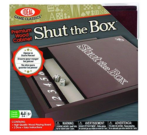 Ideal Premium Wood Cabinet Shut the Box