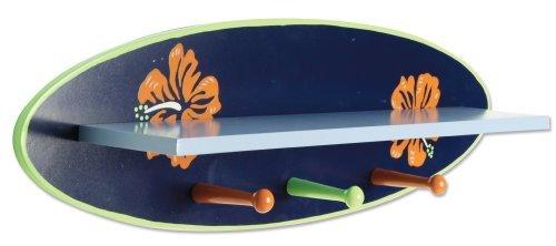 Trend Lab Wood Shelf Surf Board by Trend Lab