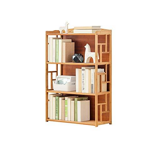 BBG BookshelfStudent with Wooden Shelves Student Storage Rack Childrens Bookshelf Multi-Layer Floor Bookcase70X30X100Cm