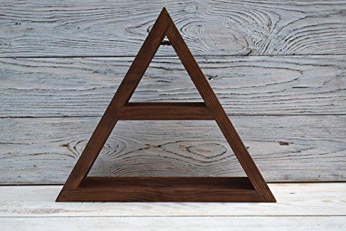 Wooden triangle Wooden Triangle shelves Triangle shelf wooden Triangle Shelvestriangle compartmentsmodular geometric shelvingDisplay shelf