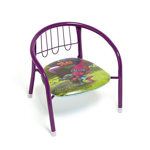 Arditex Trolls Metal Chair Light Purple 30 x 355 x 335 cm