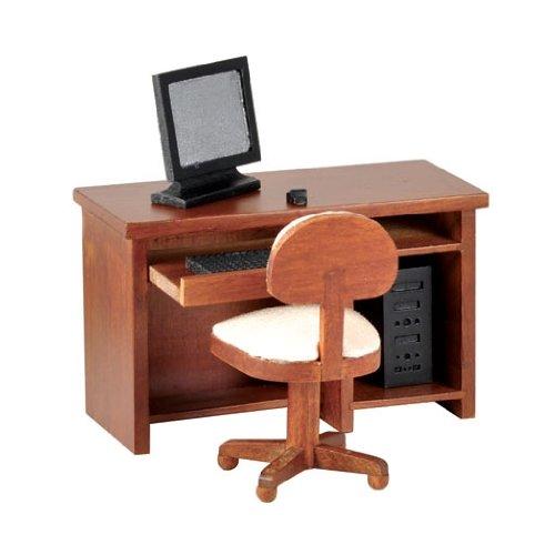 Dollhouse Miniature 5-Pc Rayton Desk Set