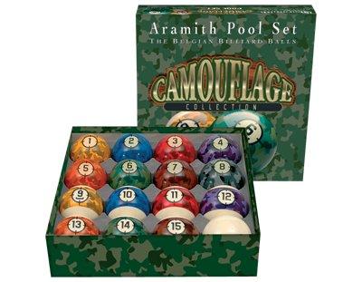 Aramith Camouflage Collection Billiard Ball Set