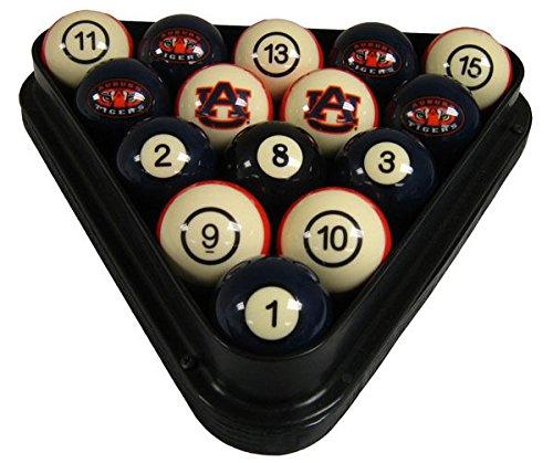 Wave 7 Technologies Auburn Tigers Billiard Ball Set - NUMBERED
