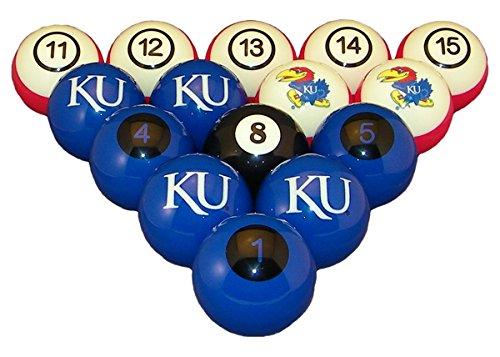 Wave 7 Technologies Kansas Billiard Ball Set - NUMBERED