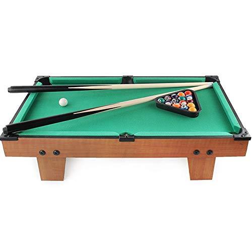 Mini Tabletop Pool Set Desktop Miniature Pool Table Set Mini Pool-Billiard Table Tabletop Toy with Mini Pool Balls Cue Sticks Accessories Gaming Toy for Adults Kids Tabletop Billiards Pool