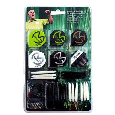 48 Piece Michael van Gerwen MvG Dart Accessory Kit