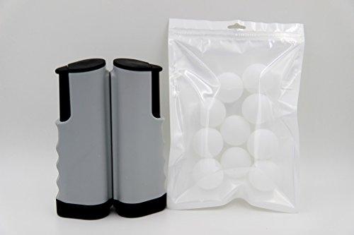 Taousa 70082 Retractable Table Tennis Portable Net  10 PCS Practice Ping Pong Balls