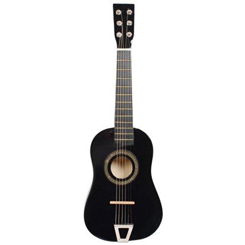 YR-Seasons 23 Children Acoustic Guitar Beginner Guitar Package Kids Toy Guitar Student Guitar GuitarPickStrings Black Model